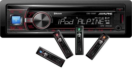 news chez alpine le cde 125bti sera bient t remplac par le nouveau cde 133bt club auto radio. Black Bedroom Furniture Sets. Home Design Ideas