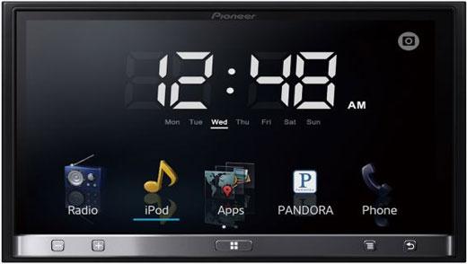 la nouvelle version appradio 2012 de pioneer est compatible android dernier cri club auto radio. Black Bedroom Furniture Sets. Home Design Ideas