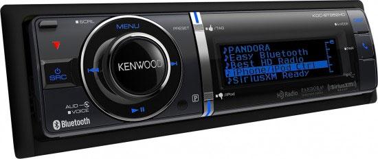 kenwood car audio l autoradio kdc bt952hd est en phase avec la tendance de l ann e 2012. Black Bedroom Furniture Sets. Home Design Ideas