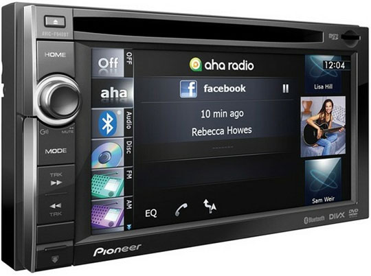 le pioneer avic f940bt une infinit d applications pour un vrai divertissement en voiture. Black Bedroom Furniture Sets. Home Design Ideas