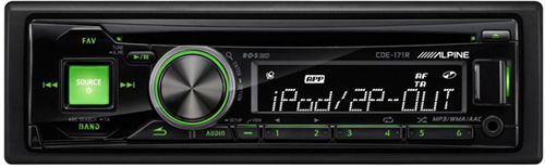 autoradio alpine cde 171r poste cd avec usb et radios rds fm club auto radio. Black Bedroom Furniture Sets. Home Design Ideas