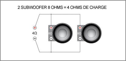 Enceinte 8 ohms